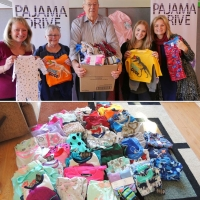 Ottawa charity - each set of PJs keeps a child warm